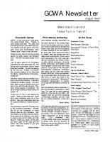 1998 08 August Newsletter