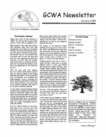 1999-01 January Newsletter