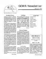 1999-02 February Newsletter