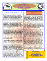 2009-04 April Newsletter