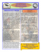 2009-05 May Newsletter
