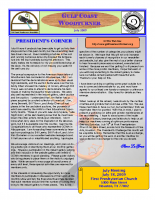 2009-07 July Newsletter