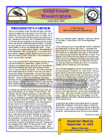 2009-09 September Newsletter