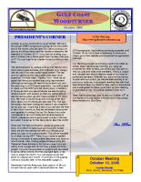 2009-10 October Newsletter