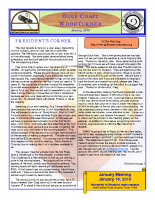 2010-01 January Newsletter