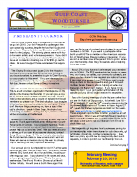 2010-02 February Newsletter