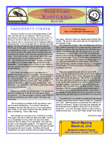 2010-03 March Newsletter