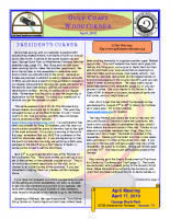 2010-04 April Newsletter