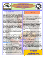 2010-07 July Newsletter