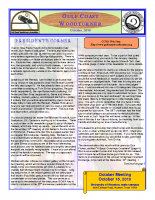 2010-10 October Newsletter