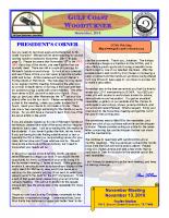 2010-11 November Newsletter