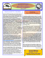 2011-01 January Newsletter