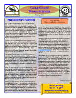 2011-03 March Newsletter