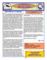 2011-08 August Newsletter