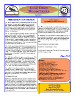 2013-04 April Newsletter