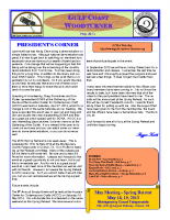 2013-05 May Newsletter