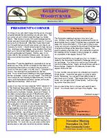 2013-11 November Newsletter
