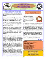 2013-12 December Newsletter
