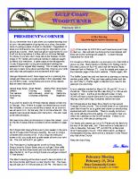 2014-02 February Newsletter