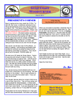 2014-03 March Newsletter
