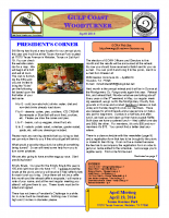 2014-04 April Newsletter