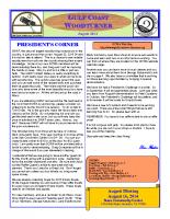 2014-08 August Newsletter