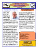 2015-11 November Newsletter