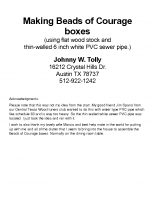 Beads of Courage boxes full with pictures 2