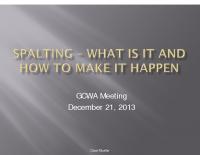 GCWA Spalting Presentation