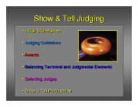 Show & Tell Presentation-std