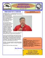 2017-11 November Newsletter