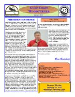 2018-01 January Newsletter