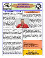 2018-02 February Newsletter