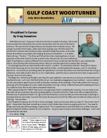 2018-07 July Newsletter
