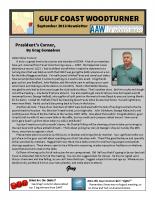 2018-09 September Newsletter